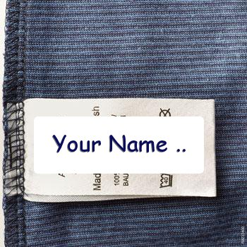 Custom Clothing Labels | Woven Labels | Hangtags